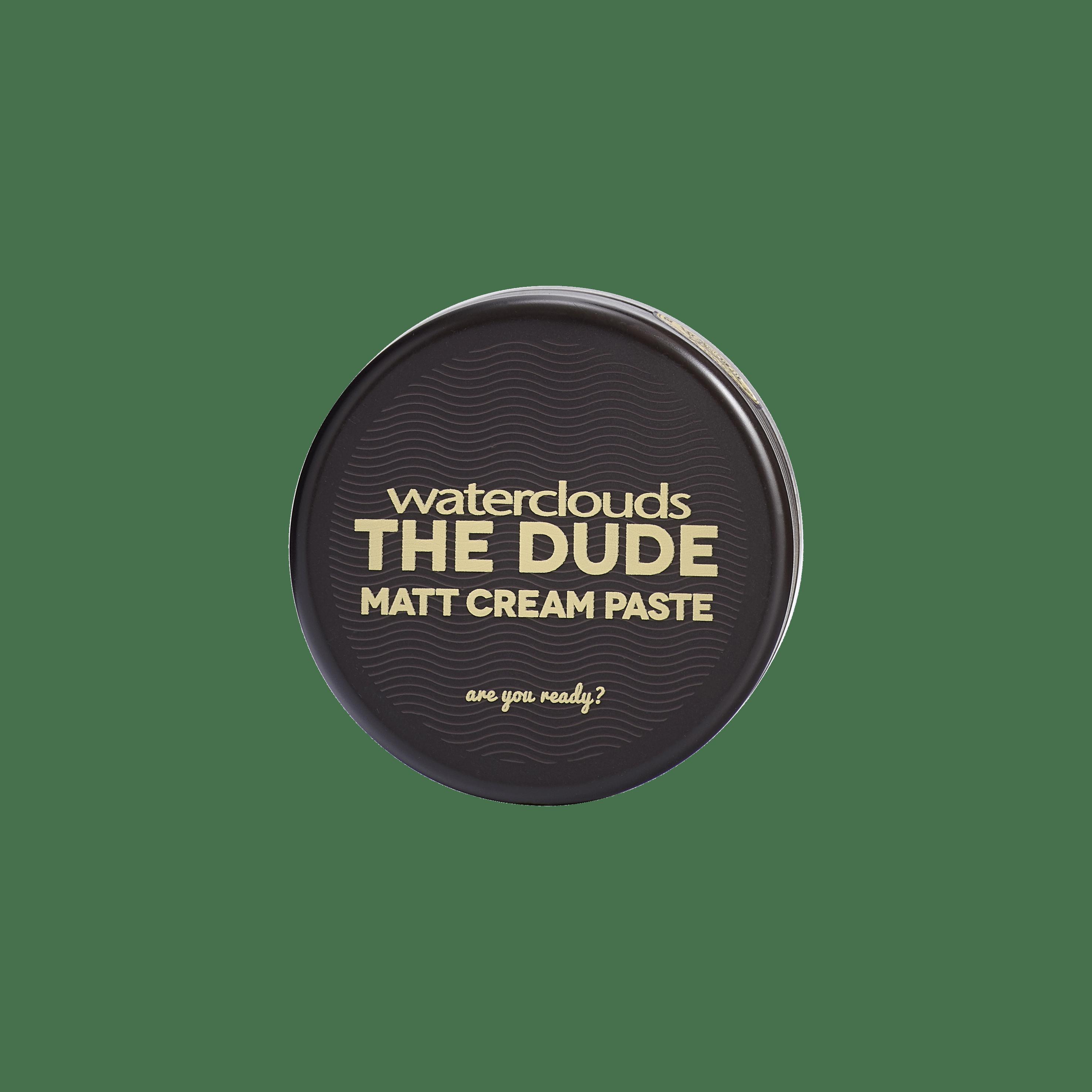 Matt Cream Paste 100ml – Waterclouds The Dude