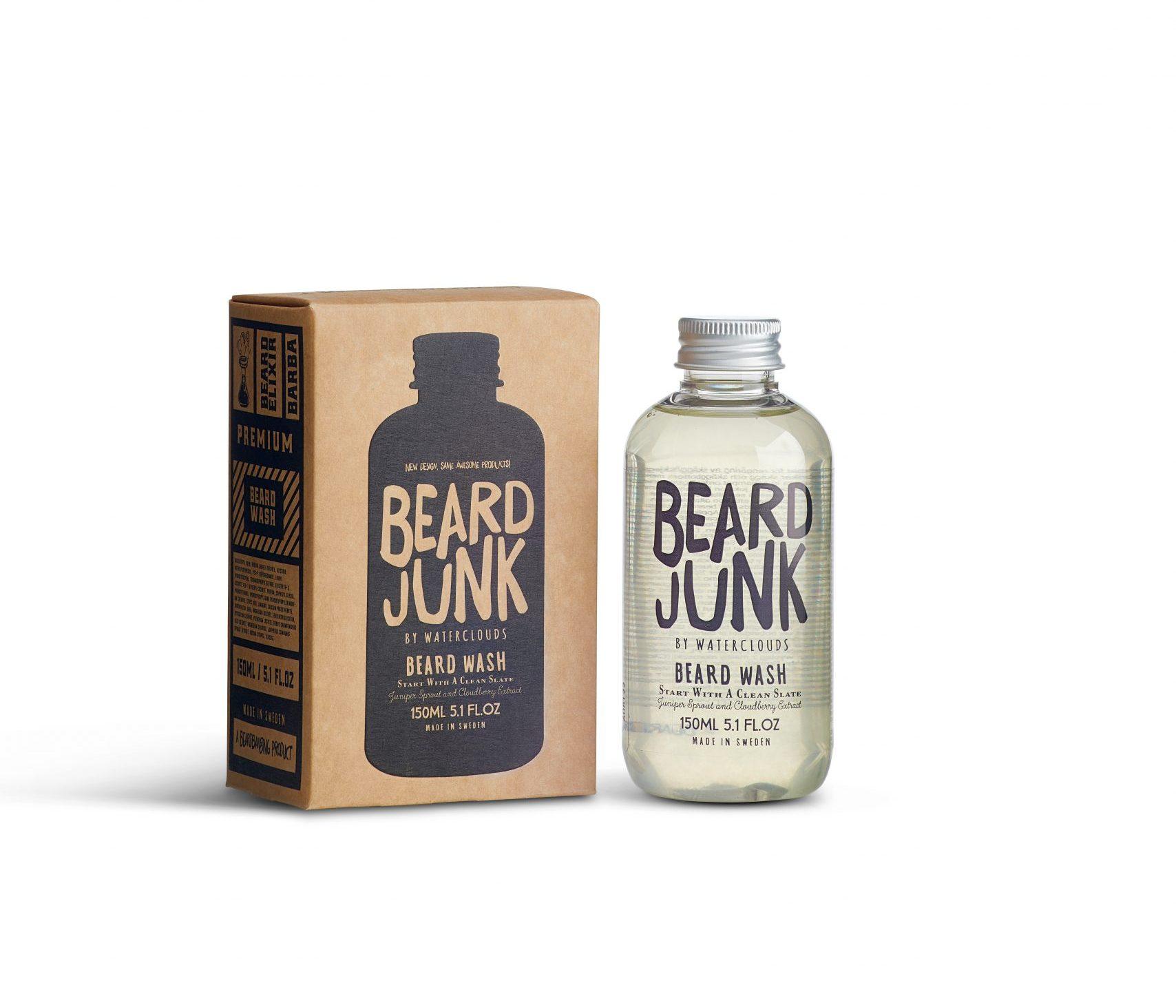 Beard Wash 150ml – Waterclouds Beard Junk