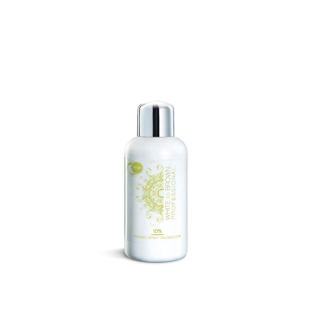 Organic 10% Spray Tan Solution 250ml – Way to Beauty