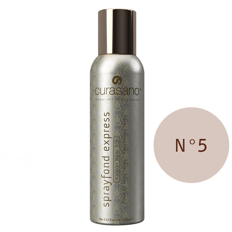 Curasano Sprayfond Express  Natural Nude no. 5 – 125ml