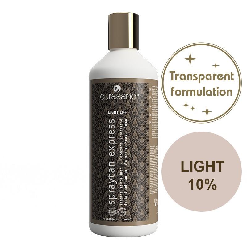 Curasano Spraytan Expres Pro Tanning Lotion Crystal Light 1000 ml