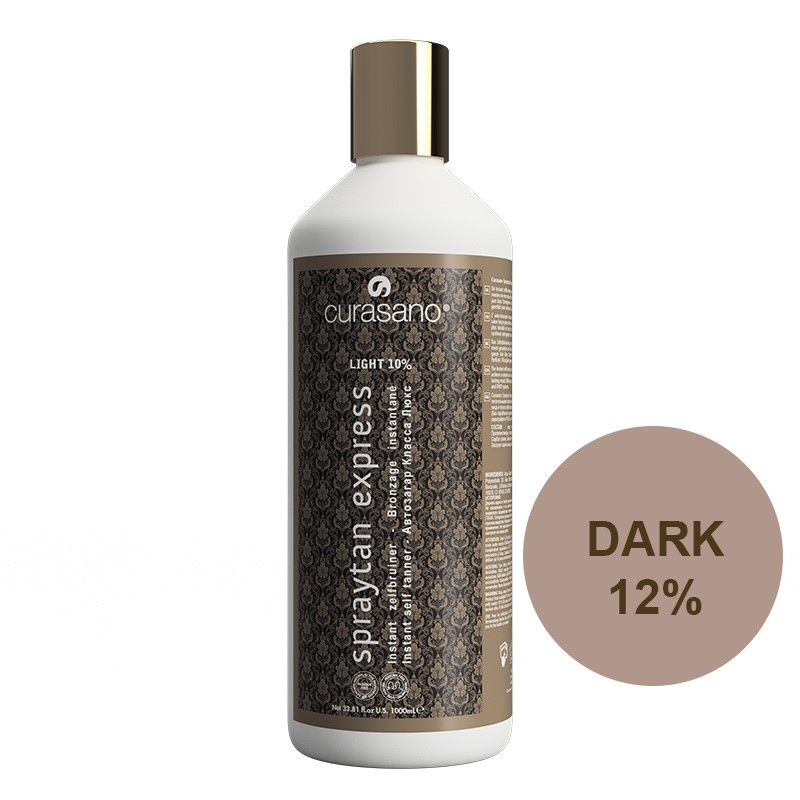 Curasano Spraytan Expres Pro Tanning Lotion Dark 1000 ml