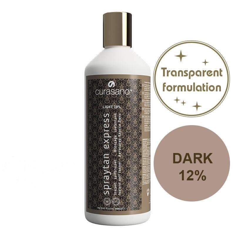 Curasano Spraytan Expres Pro Tanning Lotion Crystal Dark 1000 ml