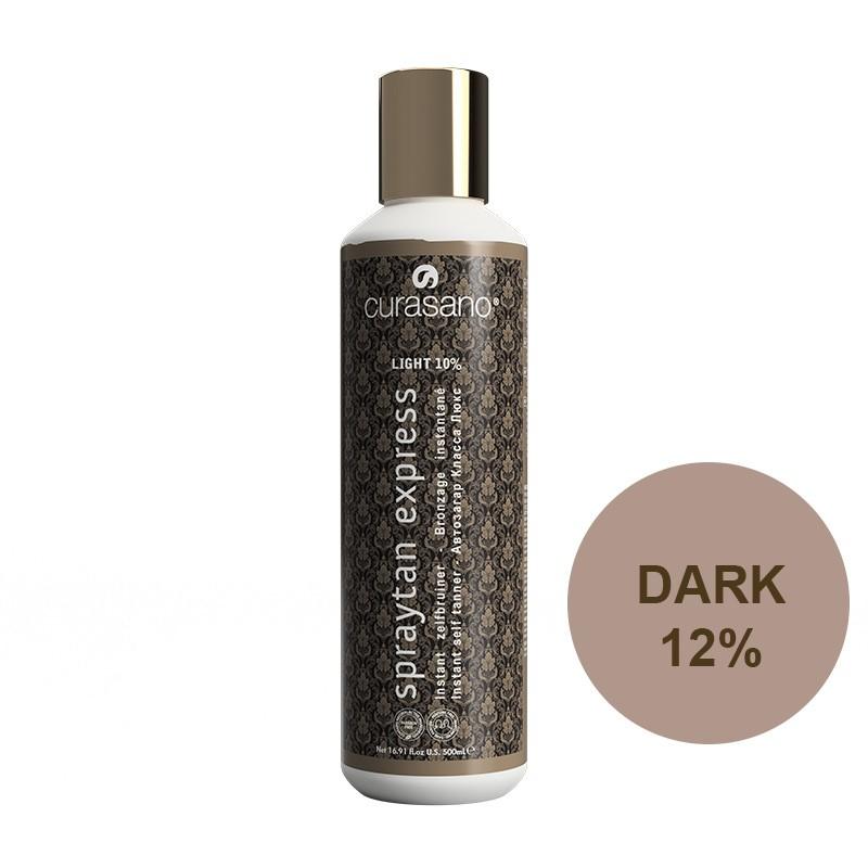 Curasano Spraytan Expres Pro Tanning Lotion Dark 500 ml