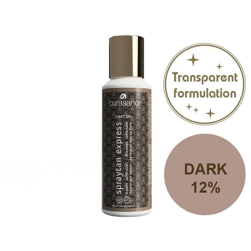 Curasano Spraytan Expres Pro Tanning Lotion Crystal Dark 250 ml