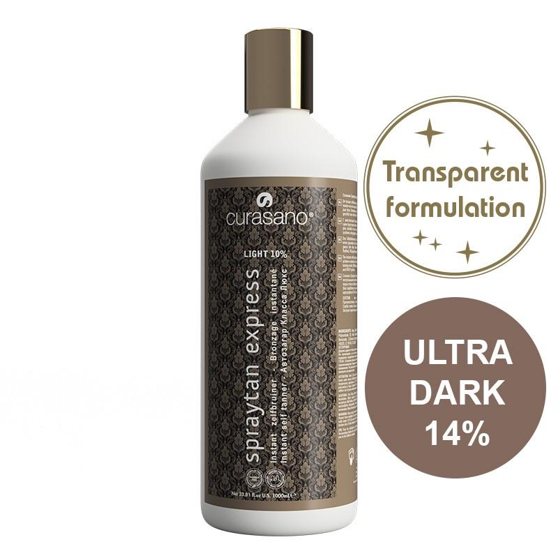 Curasano Spraytan Expres Pro Tanning Lotion Crystal Ultra Dark 1000 ml