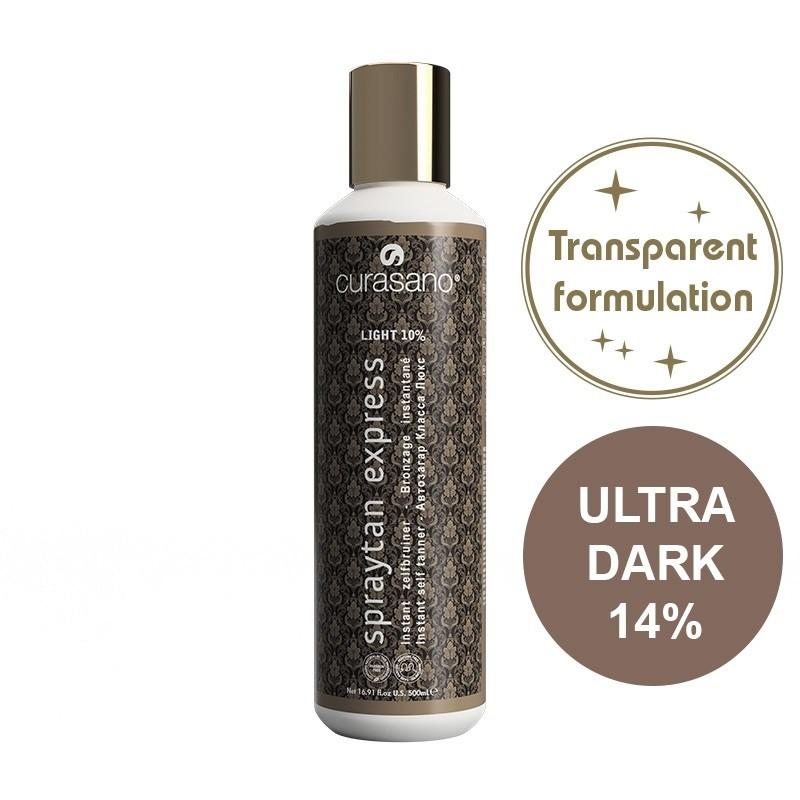 Curasano Spraytan Expres Pro Tanning Lotion Crystal Ultra Dark 500 ml