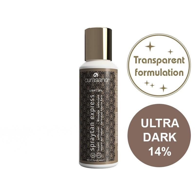 Curasano Spraytan Expres Pro Tanning Lotion Crystal Ultra Dark 250 ml