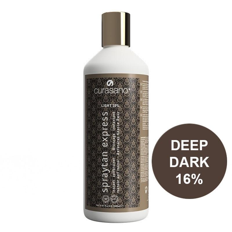 Curasano Spraytan Expres Pro Tanning Lotion Deep Dark 1000 ml