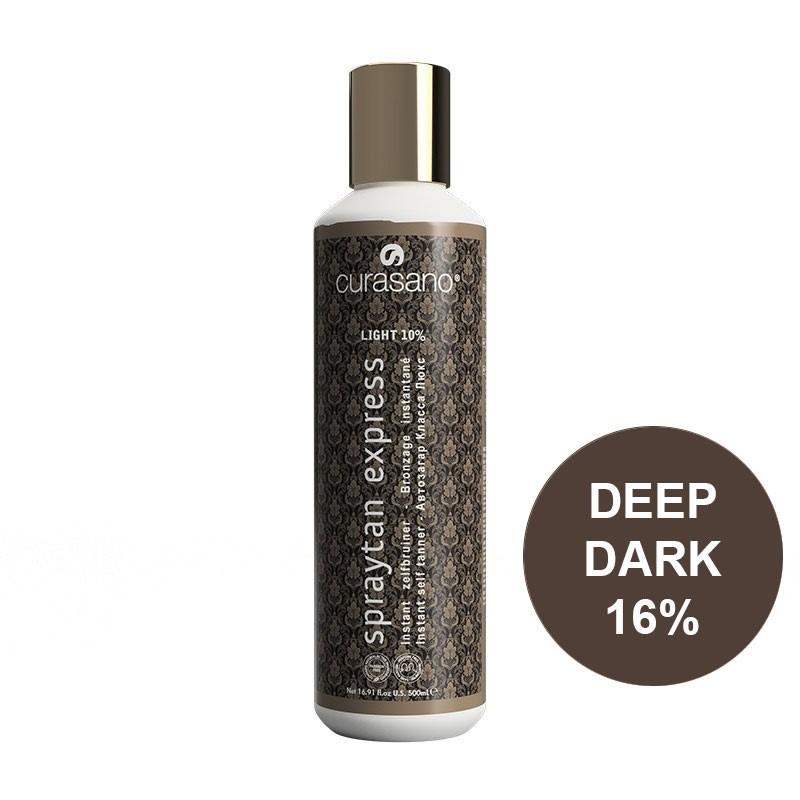 Curasano Spraytan Expres Pro Tanning Lotion Deep Dark 500 ml
