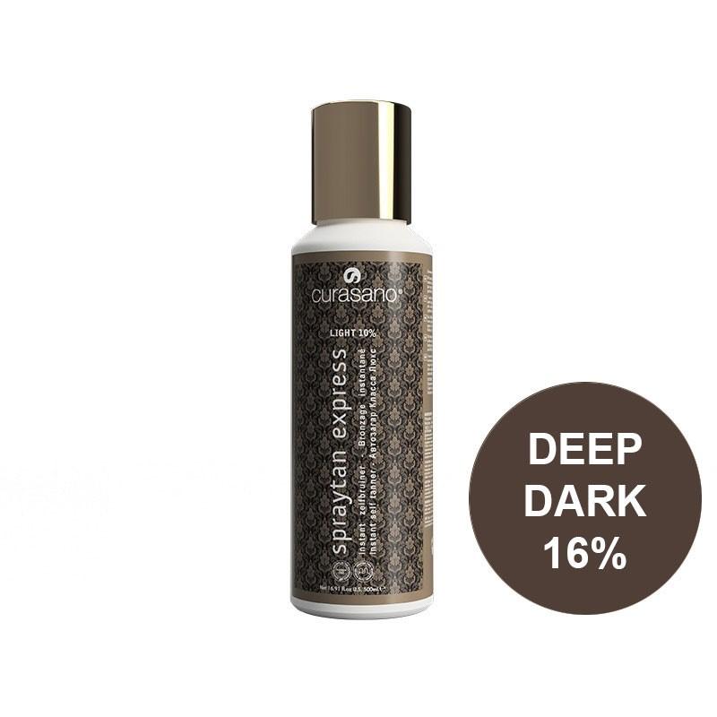 Curasano Spraytan Expres Pro Tanning Lotion Deep Dark 250 ml