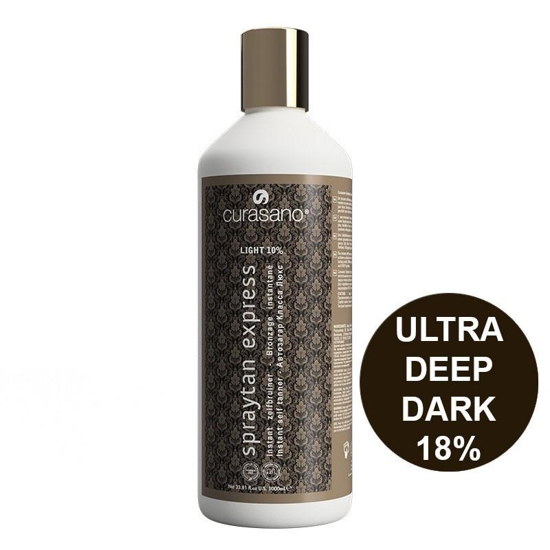Curasano Spraytan Expres Pro Tanning Lotion Ultra  Deep Dark 1000 ml
