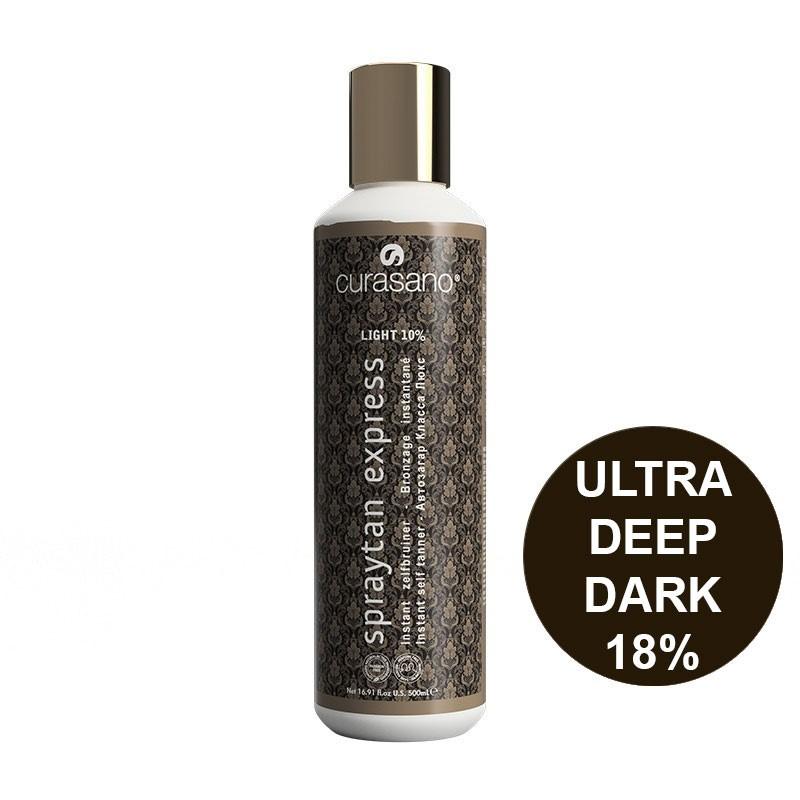 Curasano Spraytan Expres Pro Tanning Lotion Ultra  Deep Dark 500 ml