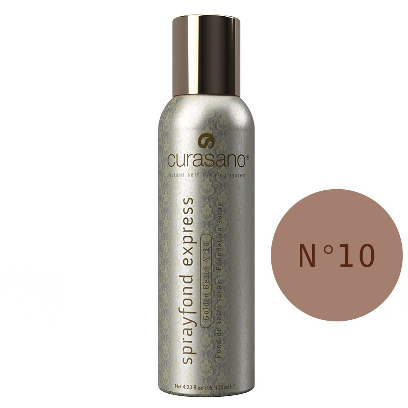 Curasano Sprayfond Express Golden Beach no. 10 – 125ml