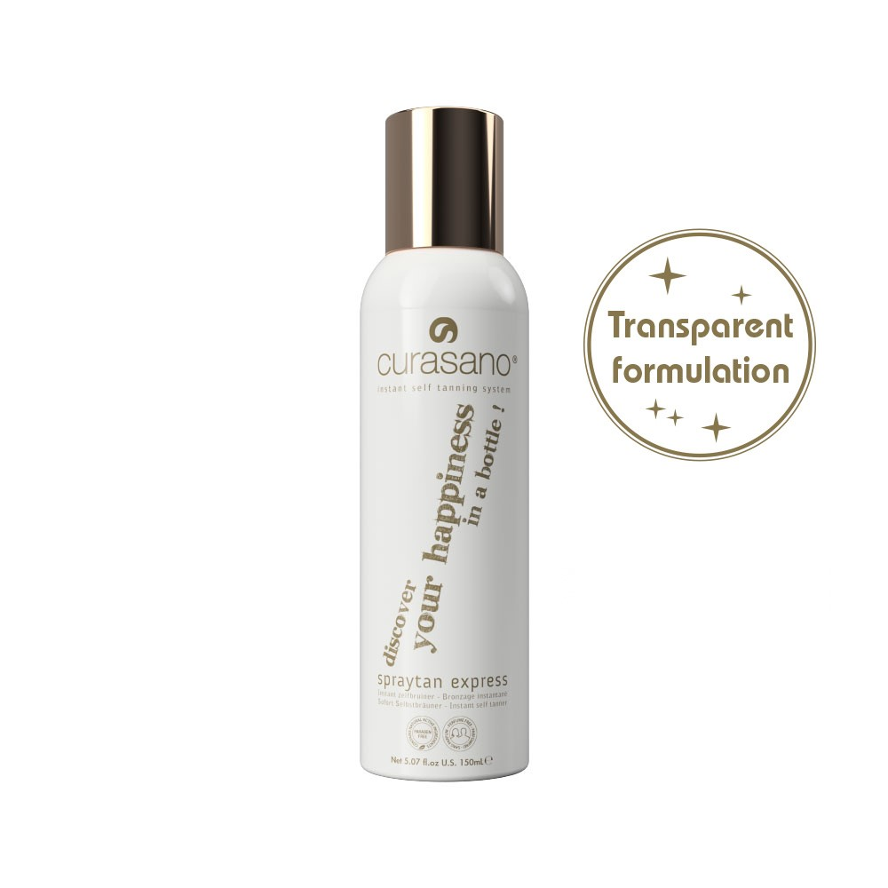 Curasano Spraytan Express Transparent – 150ml