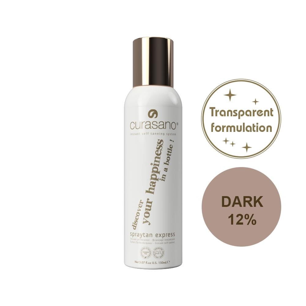 Curasano Spraytan Express Transparent Dark – 150ml