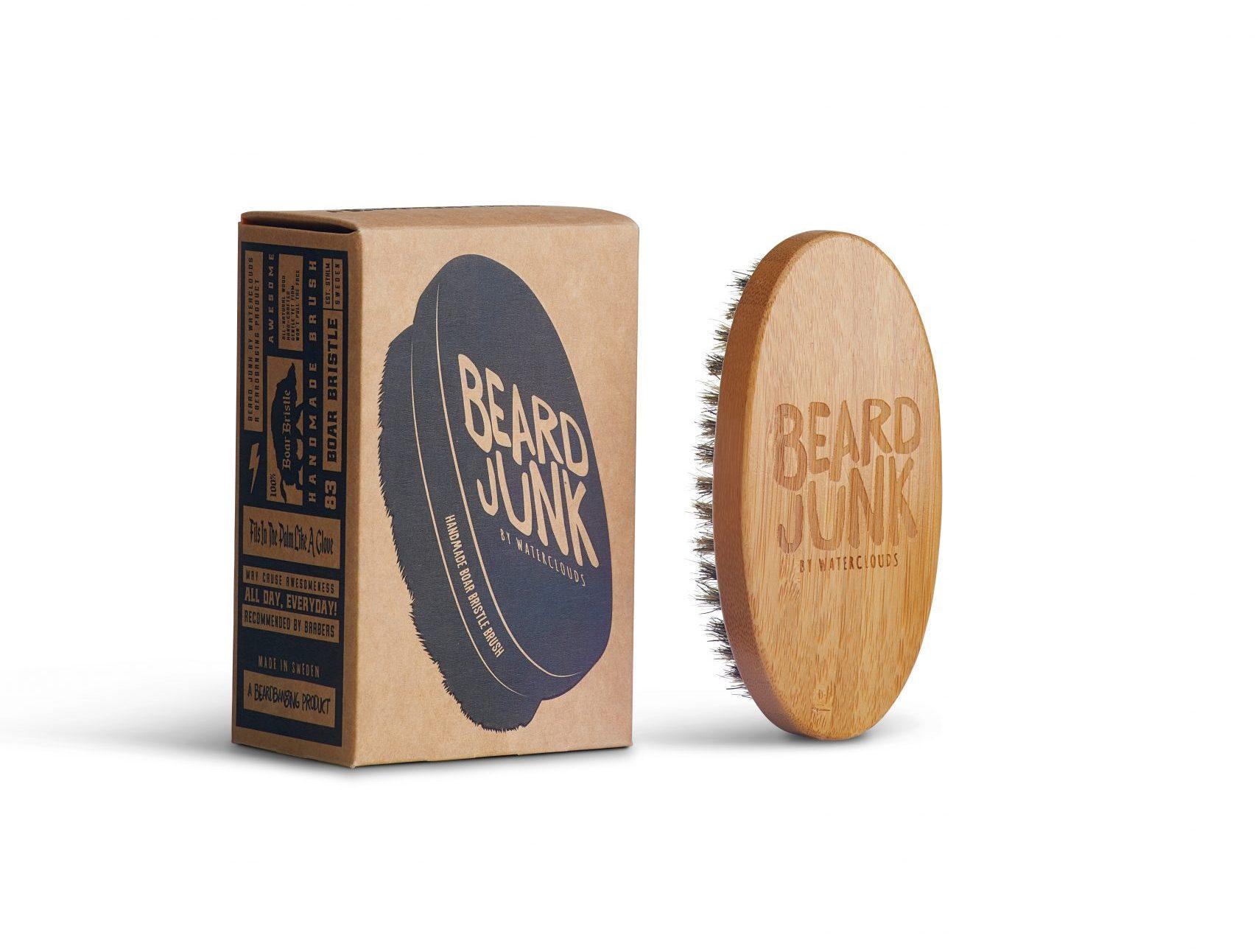 Beard Boar Bristle Brush – Waterclouds Beard Junk